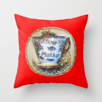 antique Throw Pillows featuring Antique by gbcimages