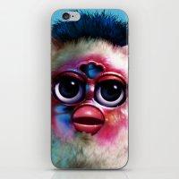 fka twigs iPhone & iPod Skins featuring Furby FKA Twigs - LP1 by Furby Living