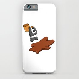 Panda Hammers Grizzly Brown Bear iPhone Case