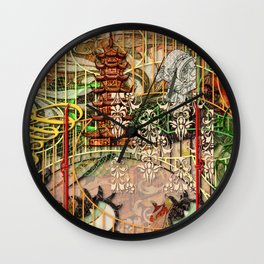 The Interlocking Mechanism of Compartmentalization (1) Wall Clock