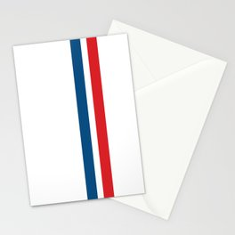 McQueen – Red and Blue Stripes Stationery Cards