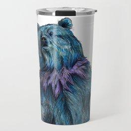 Grateful Live Bear Travel Mug