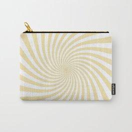 Swirl (Vanilla/White) Carry-All Pouch