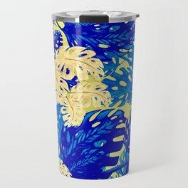 Golden Blues Travel Mug