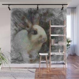 Artistic Animal Bunny 2 Wall Mural