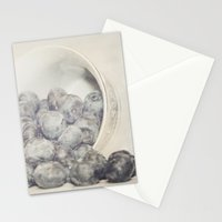 Spilled Blueberries Stationery Cards