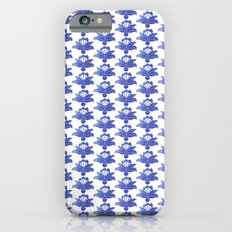 Blue floral pattern 1 iPhone 6s Slim Case