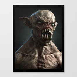 Monster I Canvas Print