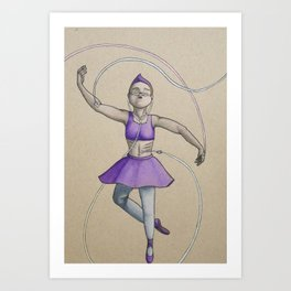 Strength and Grace Art Print