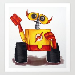 Wall-E West Art Print