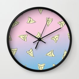 Pastel Shark Wall Clock