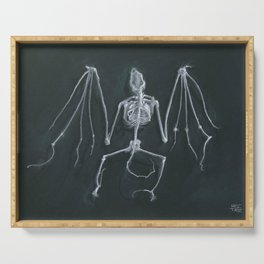 Bat Skeleton Serving Tray