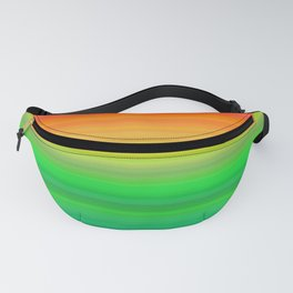 Bright Rainbow Stripes Fanny Pack