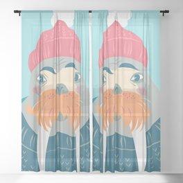 Walrus Sheer Curtain