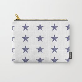 50 Blue Stars Carry-All Pouch