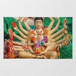 Buddhist Goddess Rug