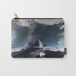 On Troubled Seas Carry-All Pouch