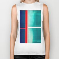 frames Biker Tanks featuring FRAMES OF COLORS by Hidden Streets