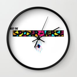 Into the Spider-Verse Wall Clock