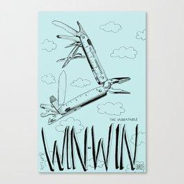 Win Win Bird Canvas Print
