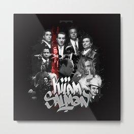 """Collection """"Le Sang par le sang"""" Metal Print"""