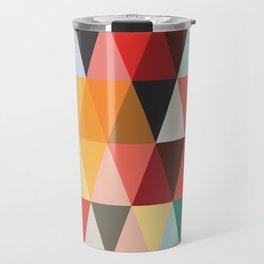 Mid-Century Modern Color Story Travel Mug