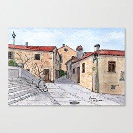 Village in Portugal Canvas Print