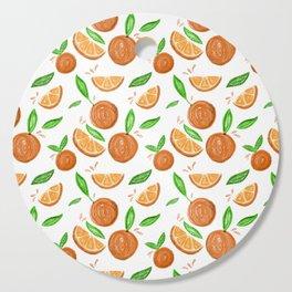 Happy Oranges Cutting Board