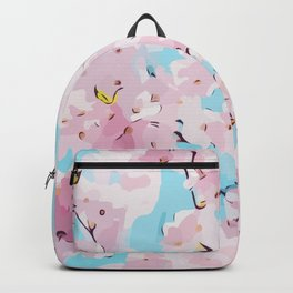 Cute pink flowers - Cherry Blossom Backpack