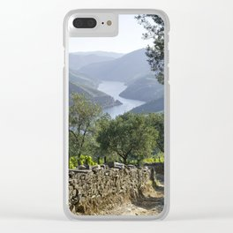 A rustic track in the Douro Clear iPhone Case