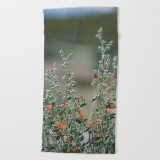 Desert Wildflower - 2 Beach Towel