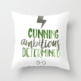 Cunning Throw Pillow