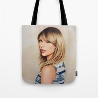 1989 Tote Bags featuring Taytay 1989 by The Art Of Dreams