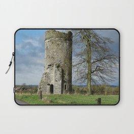 Irish Castle tower ruin Laptop Sleeve