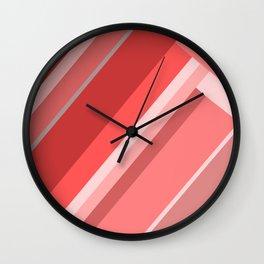 Red hills Wall Clock