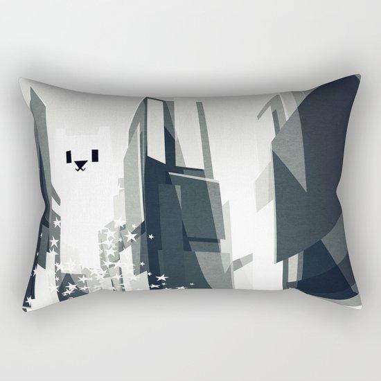 Yeti coming to town. Rectangular Pillow