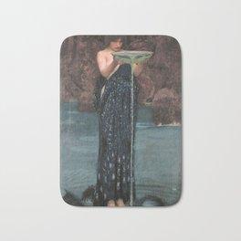 Circe Invidiosa - John William Waterhouse Bath Mat
