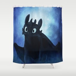 Toothless Shower Curtain