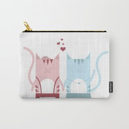 Traveling Tabbies: Bae Edition Carry-All Pouch