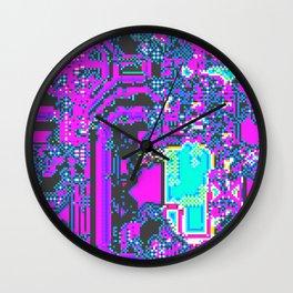 CGA style Wall Clock