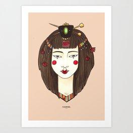 Ji-Woong Art Print