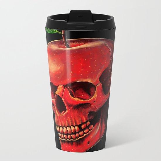 Fruit of Life Metal Travel Mug