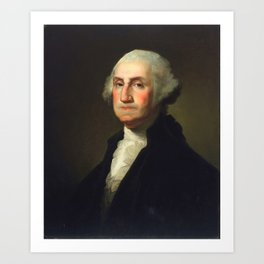 Rembrandt Peale - George Washington Art Print