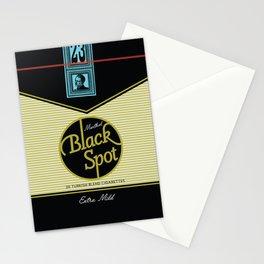 Black Spot Cigarettes Stationery Cards