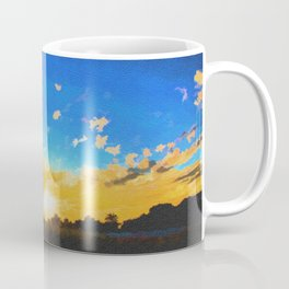 Before dusk melted colors of the world. Coffee Mug