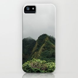 Iao Valley | Jungle Cliffs iPhone Case