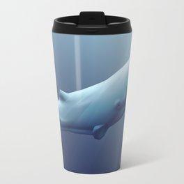 Ascending Whale Travel Mug