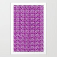 Circular Wave Art Print