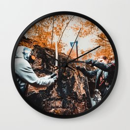 Post-apocalypse: Fight Wall Clock