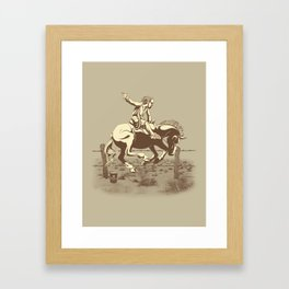 Dude Ranch Framed Art Print